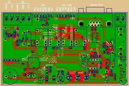 Sistema di collaudo automatico per radiocomandi
