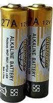 27A, alkaline 12V, bulk packing