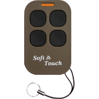 Creasol FourST: long range 433.92 MHz remote control duplicator with soft-touch case