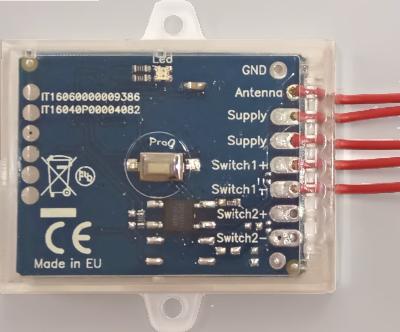 Creasol UniRec1: universal multi-frequency receiver, 1 channel