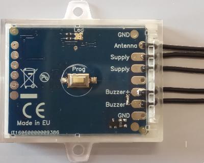 Creasol UniLock: universal multi-frequency door opener (electric lock activator)