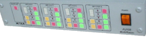 Immagine frontale amplificatore