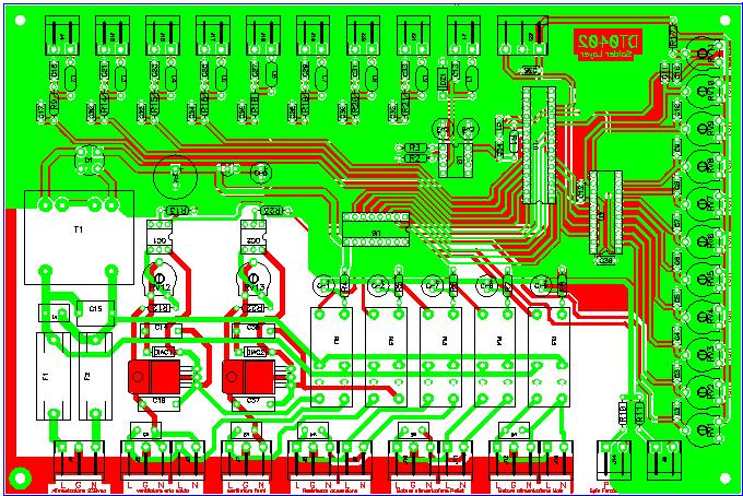 layout dimostrativo