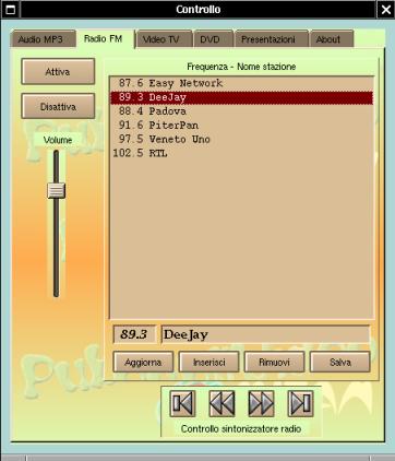 Desktop di controllo